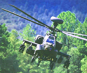 An Apache attack helicopter