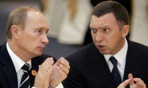 Metals oligarch Oleg Deripaska close friend of the russian Prime Minister Vladimir Putin