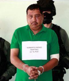 Norberto Jimenez Martinez, one of the leaders of THE ZETAS gang